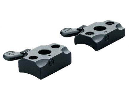 Leupold Browning X-Bolt Steel 2-Piece Quick Release Scope Base, Matte Black - 66080