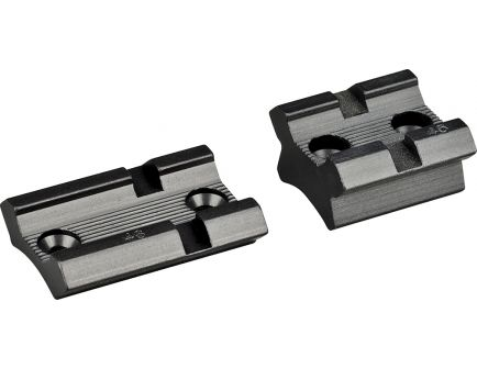Redfield Mauser 98 Aluminum 2-Piece Scope Base, Matte Black - 47515