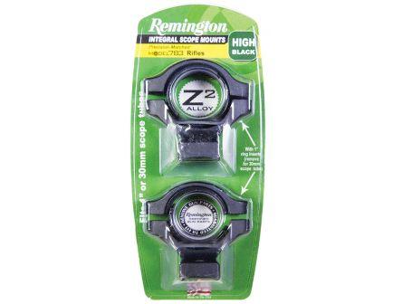 "Remington 783 1"" High Z2 Alloy 1-Piece Integral Scope Mount, Matte Black - 19729"