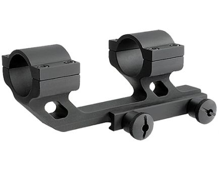 "Rock River Arms Hi-Rise 30mm 1.685"" 6061 Aluminum 1-Piece Cantilever Scope Mount w/ Integral Rings, Matte Black - AR0131T"