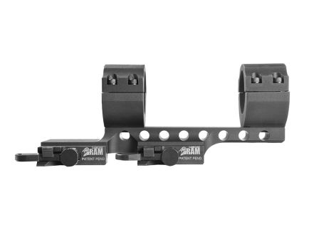 "Samson Manufacturing DMR Tactical Rifle 30mm 1.51"" 6061 T6 Aluminum 2"" Offset Quick Release Scope Mount, Anodized Black - DMR30-2"