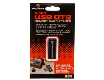 Stealth Cam SD Memory Card Reader for Android Devices - STCSDCRAND