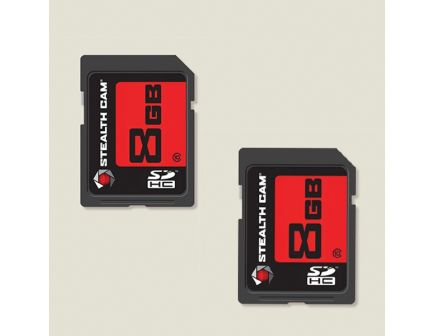 Stealth Cam 8 GB SD Card, 2/pack - STC2SD8GB