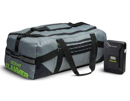 GSM LLC Scent Slammer Ozone Duffle Bag w/ Ozone Eliminator, Gray - OZNBAG