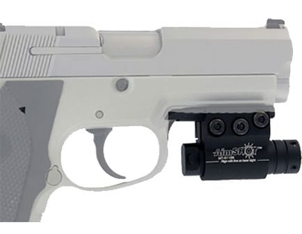Aim Shot Laser for Pistols w/ Rail Under the Barrel - KT6132