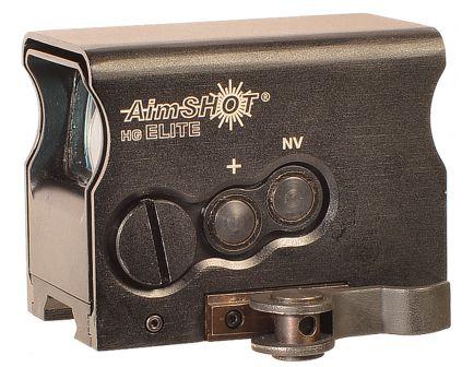 Aim Shot HG Elite 1x34mm Reflex Sight, 2 MOA Green Crosshair - HGELITEBGREE