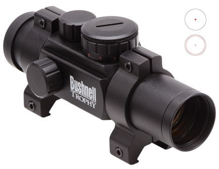 Bushnell Trophy 1x28mm Enclosed Reflex Red Dot Multi-Reticle Sight - 730135