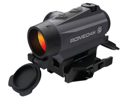 Sig Sauer Electro-Optics ROMEO4H 1x20mm Closed Red Dot Sight - SOR43012