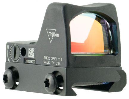 Trijicon RMR Type 2 1x Reflex Red Dot Sight w/ Picatinny Rail Mount - 700608