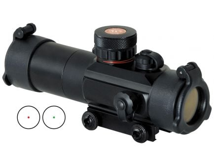 TruGlo Dual Color Tactical 1x30mm Red/Green Dot Sight - TG8030TB