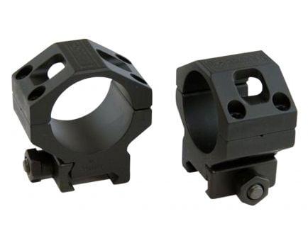 Barrett Firearms Zero Gap 34mm Medium 7075 T6 Aluminum Scope Ring, Hard Anodized Black - 66868