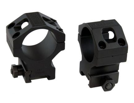 Barrett Firearms Zero Gap 34mm Ultra High 7075 T6 Aluminum Scope Ring, Hard Anodized Black - 66869
