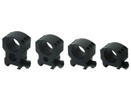 Burris Xtreme Tactical 30mm Medium Aluminum 2-Piece Scope Ring, Matte Black - 420162
