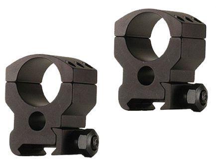 "Burris Xtreme Tactical 1"" High Aluminum 2-Piece Scope Ring, Matte Black - 420182"