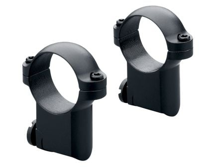 "Leupold Ruger M77 1"" Medium Steel 2-Piece Scope Ring, Matte Black - 170351"