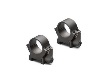 "Leupold QRW2 1"" Medium Steel 2-Piece Scope Ring, Silver - 174069"