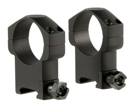 Leupold Mark 4 35mm Super High Aluminum 2-Piece Scope Ring, Matte Black - 174942