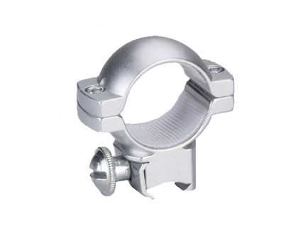 """Traditions 1"""" Medium Aluminum Top/Bottom Style Scope Ring, Matte Silver - A797MA"""