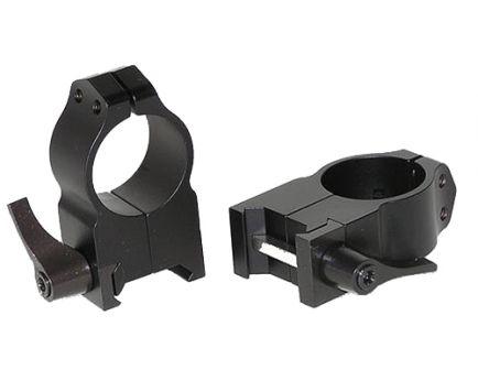 "Warne Scope Mounts Maxima 1"" Extra High Steel Quick Detach Scope Ring, Matte Black - 203LM"