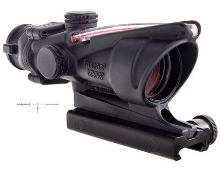 Trijicon ACOG 4x32mm Dual Illuminated Red 5.56/.223 BDC Horseshoe Dot Rifle Scope - 100219