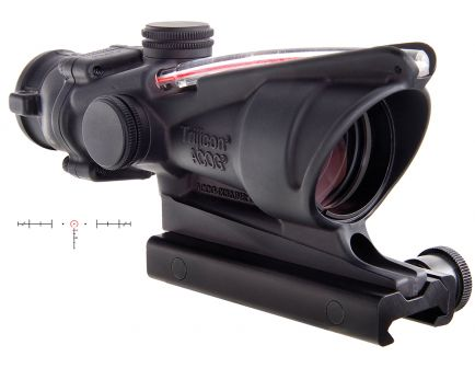 Trijicon ACOG 4x32mm Dual Illuminated Red 6.8 SPC Horseshoe Dot Rifle Scope - 100220