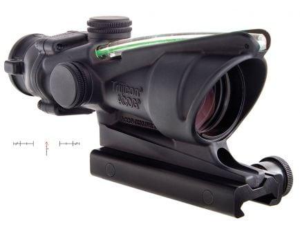 Trijicon ACOG 4x32mm Illuminated Green Chevron Rifle Scope - 100229