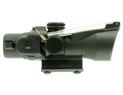Trijicon ACOG 3x24mm Dual Illuminated Green .223/55 gr Crosshair Ballistic Rifle Scope - 400231