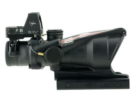 Trijicon ACOG 4x32mm Dual Illuminated Chevron .223 BDC Ballistic Red Rifle Scope w/ RMR - 100549