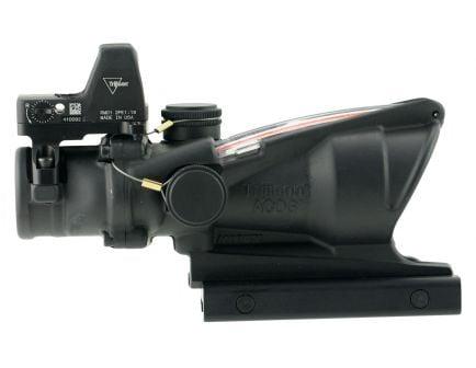 Trijicon ACOG 4x32mm Dual Illuminated Crosshair .223 BDC Ballistic Red Rifle Scope w/ RMR - 100550