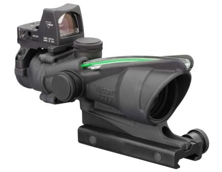 Trijicon ACOG 4x32mm Dual Illuminated Crosshair .223 BDC Ballistic Green Rifle Scope w/ RMR - 100552