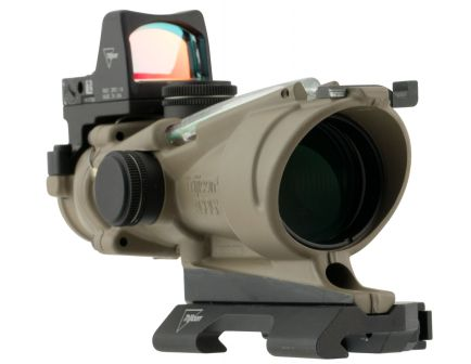 Trijicon ACOG 4x32mm Illuminated Crosshair 223/5.56 BDC Green Rifle Scope w/ RMR - 100554