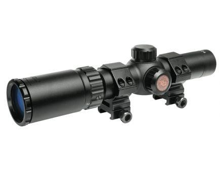 TruGlo Tru-Brite 30 Hunter 1-4x24mm Circle Duplex Rifle Scope - TG8514BC