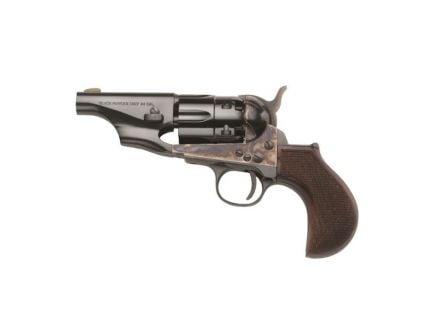 Taylors & Company 1860 Army Snub Nose .44 Revolver, Blue w/ Case Hardened - 317PIE