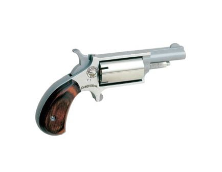 North American Arms Super Companion Cap and Ball .22 Mag Revolver, Stainless Steel - 22MCB