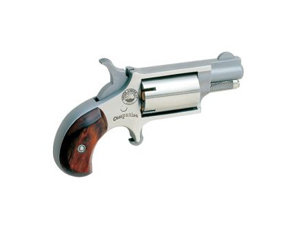 North American Arms Super Companion Cap and Ball .22lr Revolver, Stainless Steel - 22LRCB