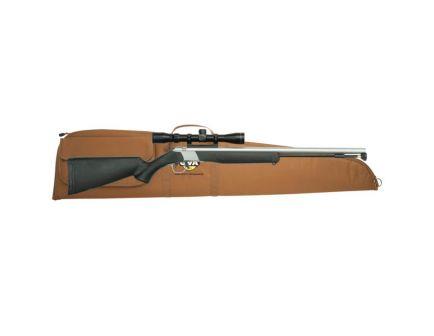CVA Wolf .50 Caliber Rifle Muzzle Loader w/ 3-9x32mm Rifle Scope, Black - PR2110SSC