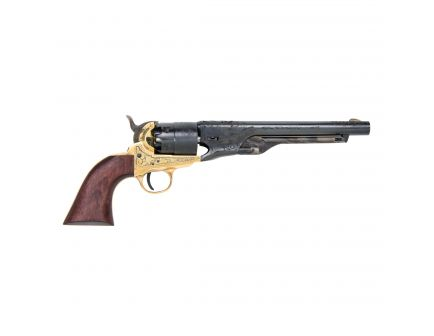Traditions Black Powder 1860 Army Engraved .44 Revolver, Blue - FR186012