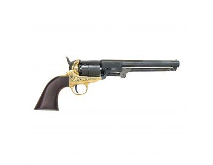 Traditions Black Powder 1851 Navy Engraved .44 Revolver, Brass - FR185118