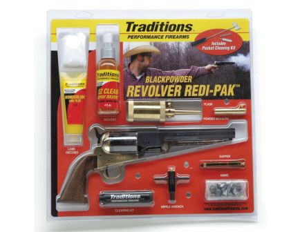 Traditions Black Powder 1851 Navy Redi-Pak .44 Revolver - FRS18511