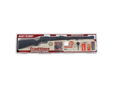 Traditions Tracker Redi-Pak .50 Break Open Rifle, Black - RS44003470