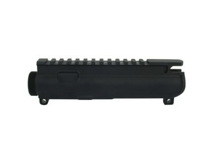 Tacfire .223 Rem/5.56 Stripped Upper Receiver for Billet AR-15 Style Rifle, Hardcoat Anodized Black - UP01
