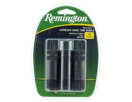Remington Rem Choke 12 Gauge Improved Cylinder/Full/Modified Flush Choke Tube, Black - 19149
