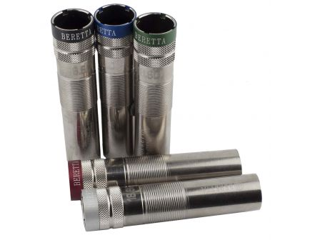 """Beretta Optima-Choke HP 12 Gauge Improved Modified 0.75"""" Extended Choke Tube, Silver with Colored Band - C62140"""