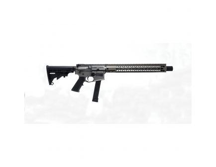 """Brigade Manufacturing 16"""" 9mm AR Pistol, Cerakote Tungsten - A0911633"""