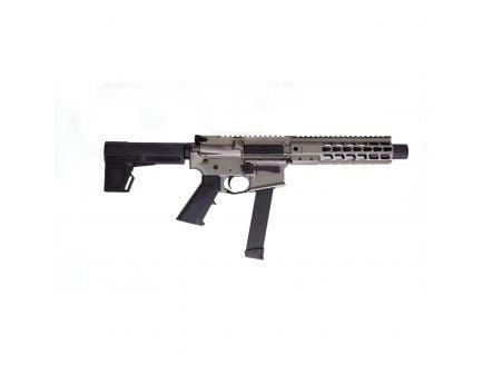 """Brigade Manufacturing 9"""" 9mm AR Pistol, Cerakote Tungsten Gray - A0919031"""