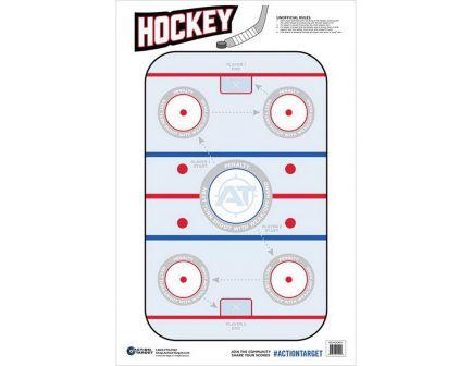 "Action Target 23"" x 35"" Hockey Target, 100/box - GS-HOCKEY-100100 BX"