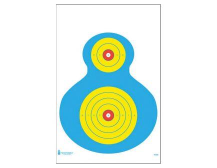 "Action Target Law Enforcement 19"" x 25"" High Visibility Fluorescent Silhouette Target, 100/box - PR-WB1-100"