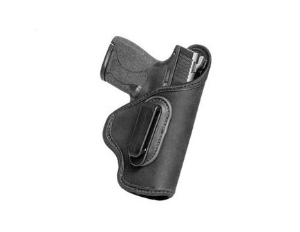 "Alien Gear Holsters Grip Tuck Full Left Hand Glock G17 Springfield XDM 4.5"" Barrel IWB Universal Holster, Black - GTXXXFLH"