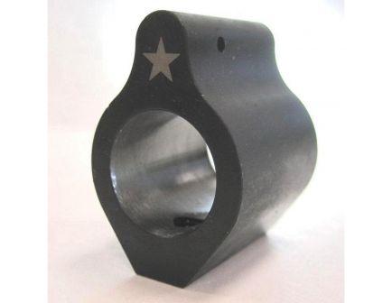 Bravo Company Mfg Steel Low-Profile Gas Block w/ Set Screw, Phosphate Black - LGB-625