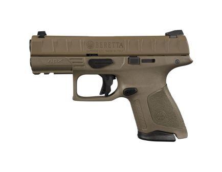 Beretta APX Compact 9mm Pistol, FDE - JAXC92005